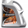 G-Energy Synthetic Super Start 5W-30 API SN/CF; ACEA C3 синтетическое 205л
